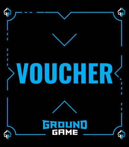 Dárkový poukaz  Ground Game 2439Kč