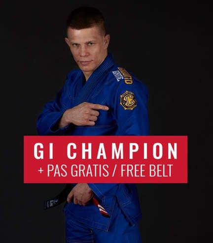 """Kimono GI BJJ  Ground Game  """"Champion 2.0"""" (Modré) + pásek ZDARMA"""