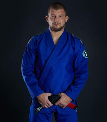 "Kimono Gi BJJ Ground Game ""Rookie"" (Modré)"