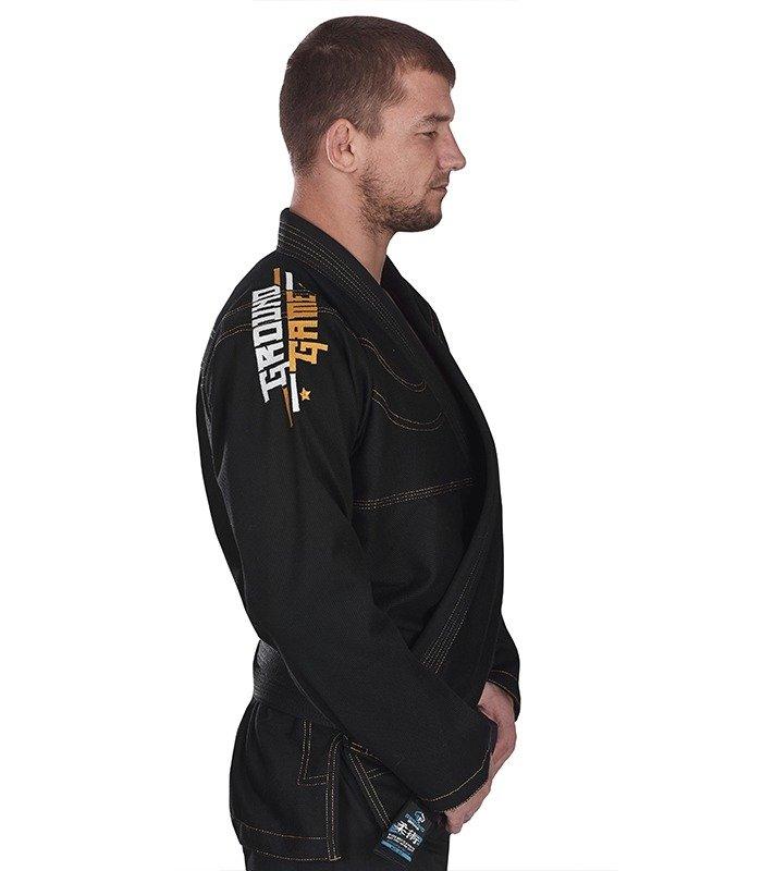 """Kimono Gi BJJ  Ground Game """"Champion"""" (Černé)"""