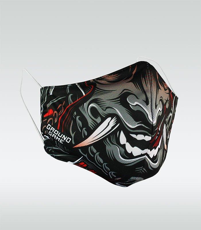 """Obličejová rouška (pro více použití)  """"Samurai"""""""