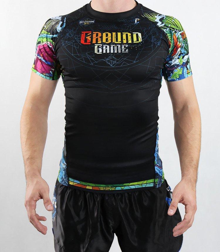 "Rashguard Ground Game ""Carioca"""