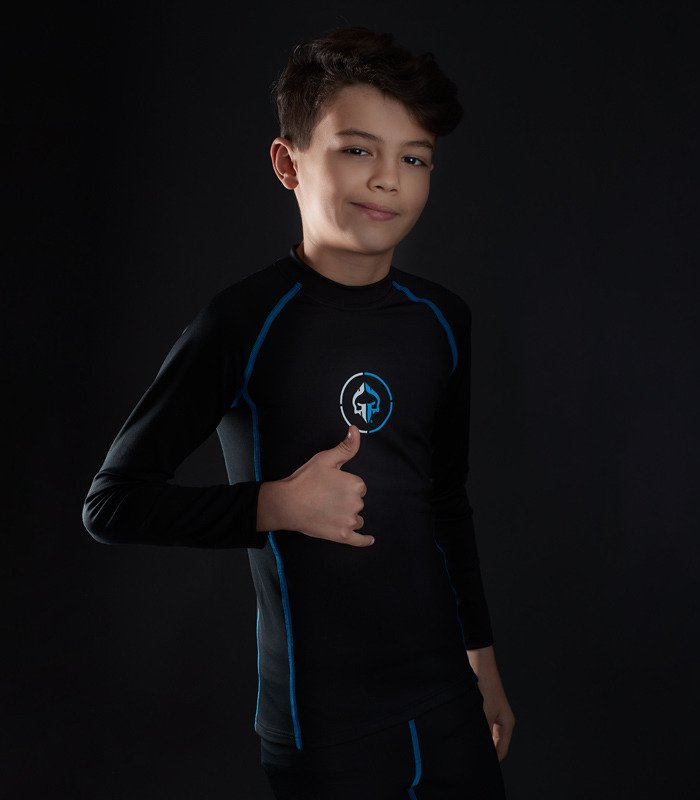 "Rashguard Ground Game ""Athletic 2.0 Kids"""