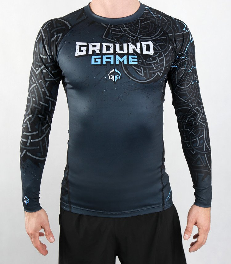 "Rashguard Ground Game ""Thor"" dlhý rukáv"