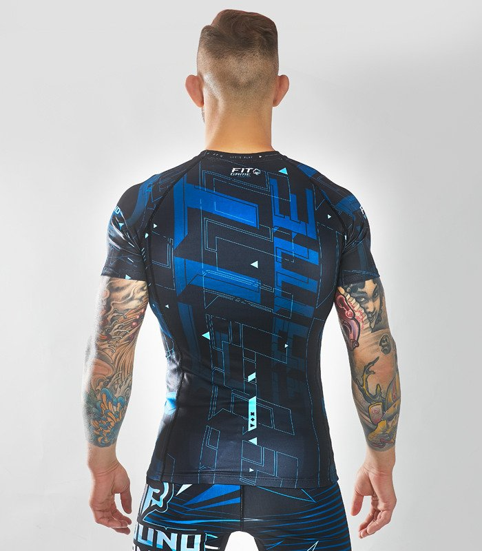 "Rashguard Ground Game ""Shapes"""