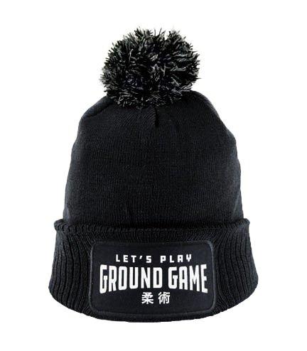 """Zimní čepice """"Ground Game"""" černá"""