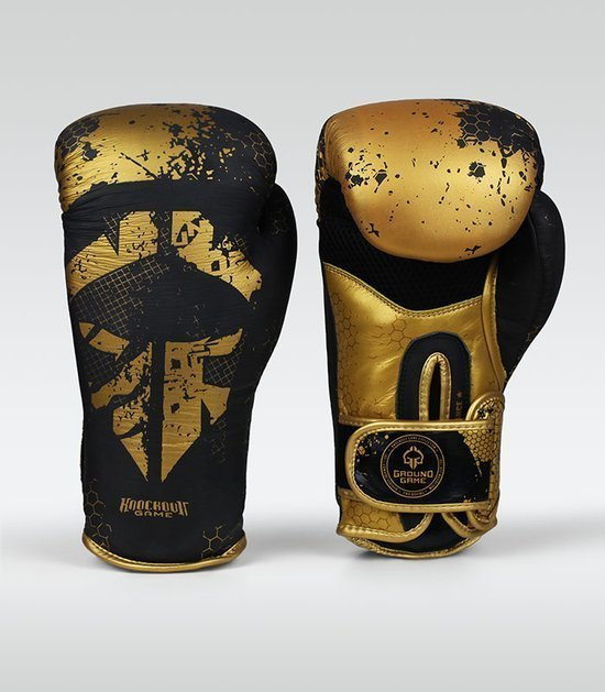 "Boxerské rukavice Ground Game  ""Cage Gold"" 14 oz"
