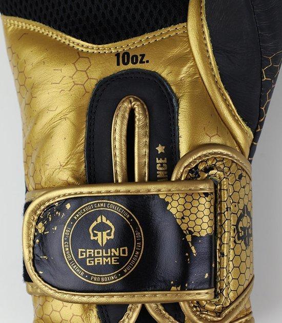 "Boxerské rukavice Ground Game  ""Cage Gold"" 16 oz"