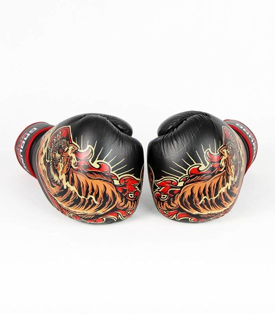 """Boxerské rukavice PRO Ground Game """"Red Tiger"""" 10 oz"""