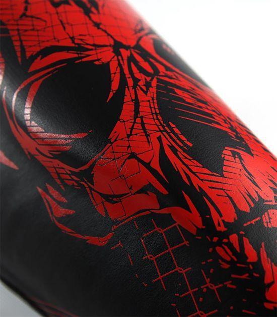 """Chrániče holení Ground Game PRO  """"Red Skull"""""""