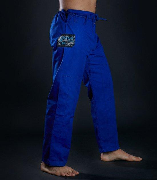 """Kimono Gi BJJ Ground Game """"Rookie"""" (Modré)"""