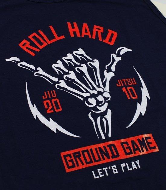 "Pánské tílko Ground Game ""Roll Hard"" Tmavě modré"