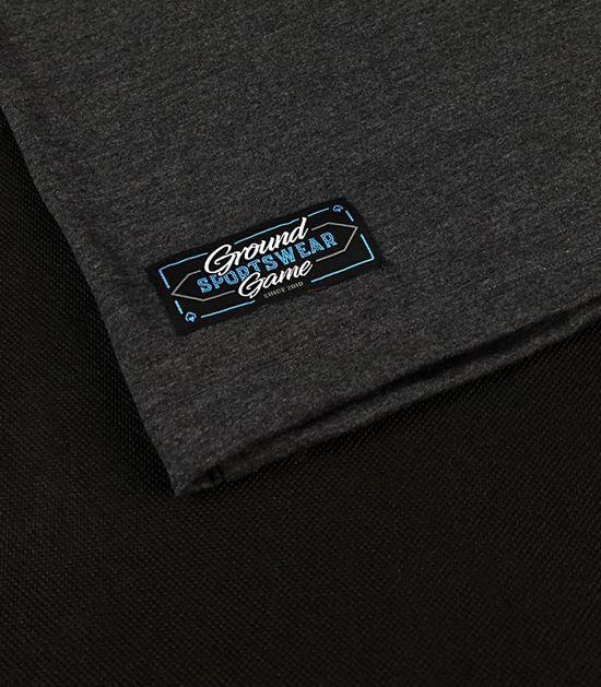 """Pánské tričko Ground Game """"BJJ Sunset"""" Grafitové"""