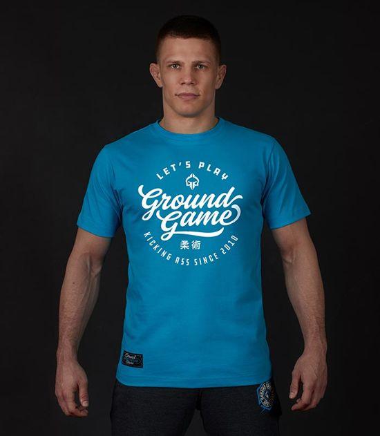 "Pánské tričko Ground Game ""Gamester""modrý"