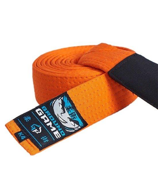 Pásek BJJ Ground Game dětský (Oranžový)