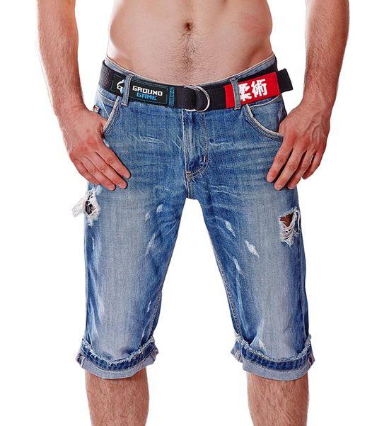 Pásek do kalhot BJJ Ground Game (Černý)