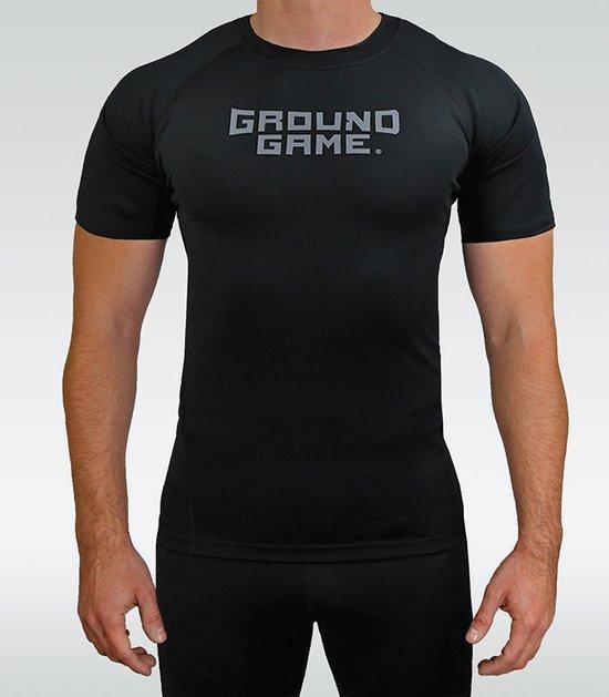 """Rashguard Ground Game """"Athletic Shadow"""" krátky rukáv"""