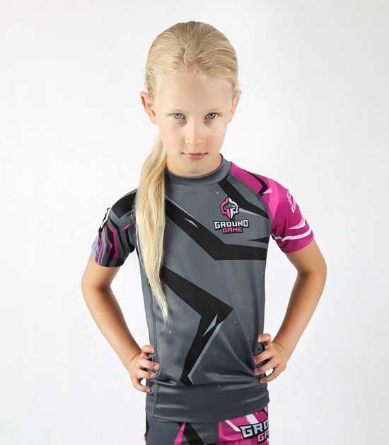 "Rashguard  Ground Game ""Clash Kids"""