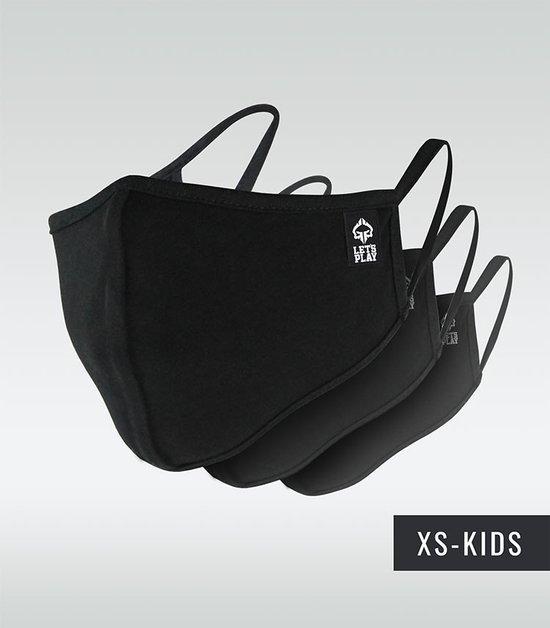 Set of 3x protective masks