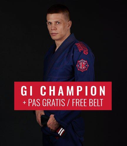 "BJJ GI ""Champion 2.0"" (Navy) + FREE Belt"