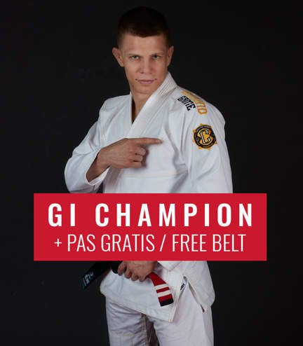 "BJJ GI ""Champion 2.0"" (White) + FREE Belt"