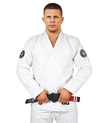 "BJJ GI ""Gamer"" White"