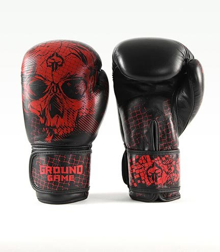 "Boxing Gloves PRO ""Red Skull"" 14 oz"