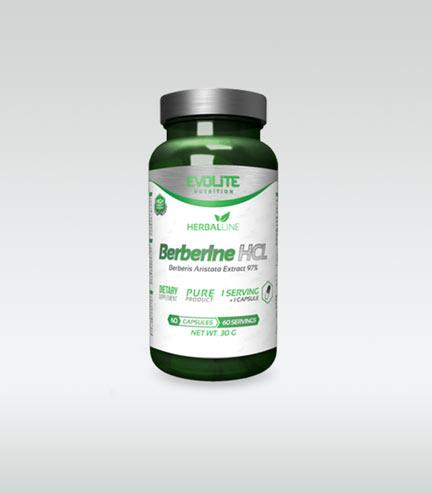 Evolite Berberine HCL 400mg 60 caps