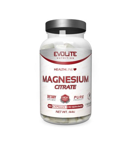 Evolite Cytrynian Magnezu 180 caps