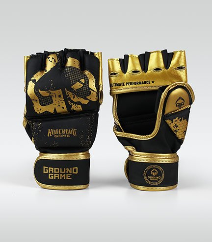 """MMA Gloves """"Cage Gold"""""""