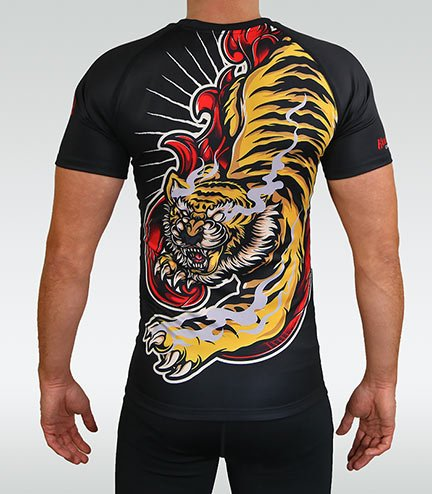 "Rashguard ""Red Tiger"""