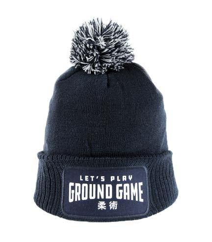 """Winter Hat """"Ground Game"""" navy blue"""