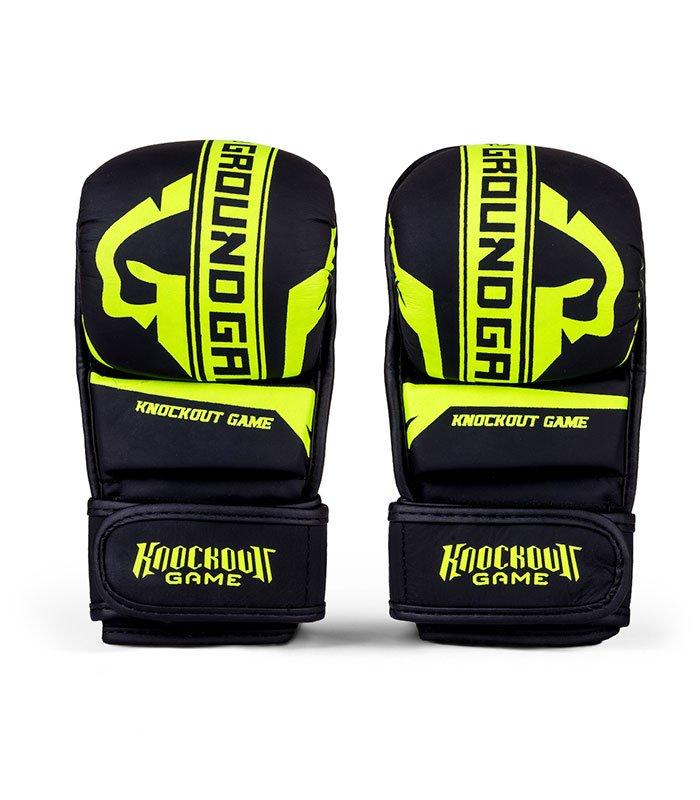 """MMA Sparing Gloves """"Stripe Neon"""""""