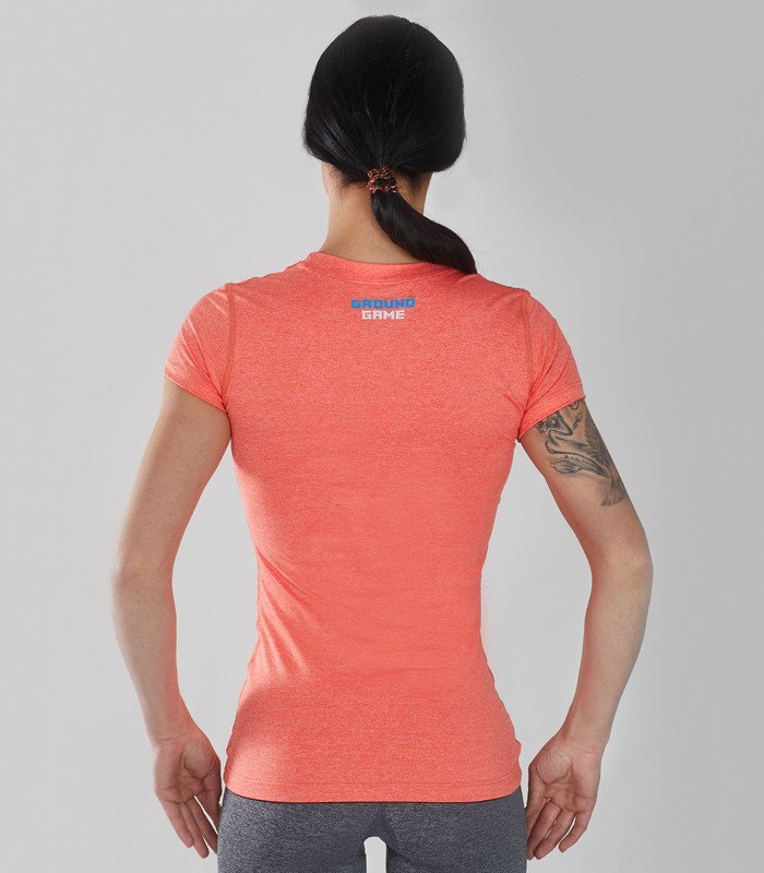 "Rashguard Light ""Melange Orange"""