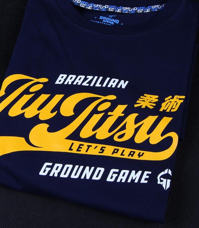 """T-shirt """"Jiu Jitsu"""" Dark navy"""