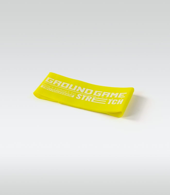 Training / resistance Mini Band (Yellow, 0.6 mm, 7-13 kg)