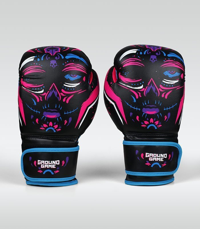 "Women's Boxing Gloves ""La Muerta"" 10 oz"