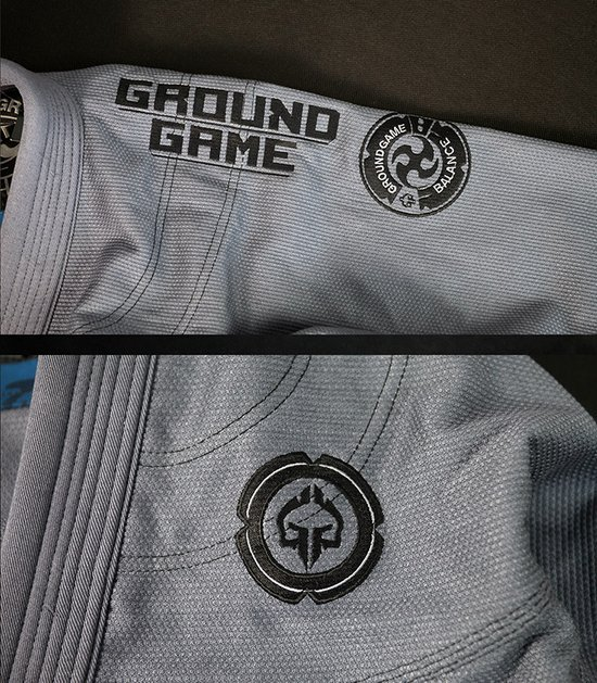 "BJJ GI ""Balance 3 Shadow"" (Grey)"