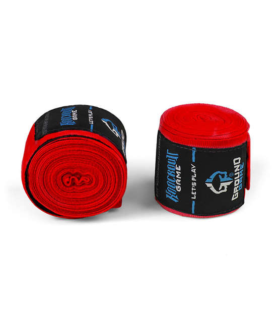 """Hand Wraps """"Classic"""" Red"""