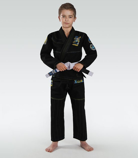 """Junior 3.0"" BJJ Kids GI (Black)"