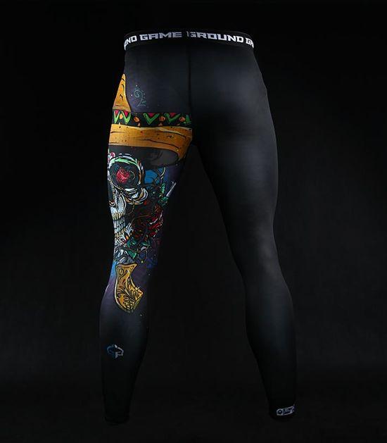 "Leggings ""Mexican Skull"""