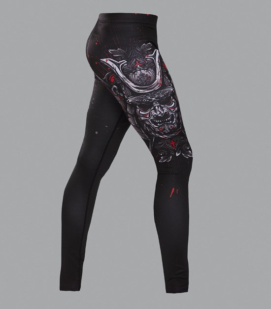 "Leggings ""Samurai Mask"""