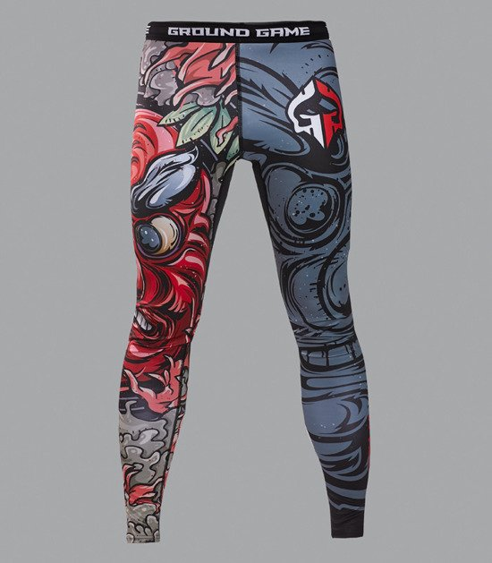 "Leggings ""Tengu Grey"""