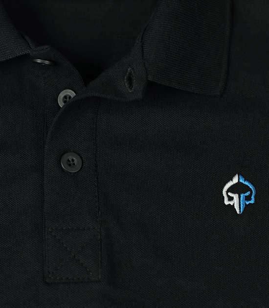 """Minimal"" Polo Black"