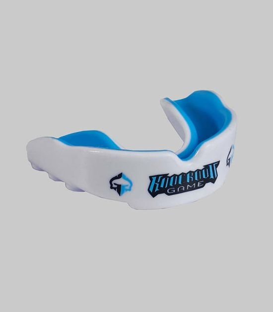 """Mouth Guard """"Knockout Game"""" (White)"""