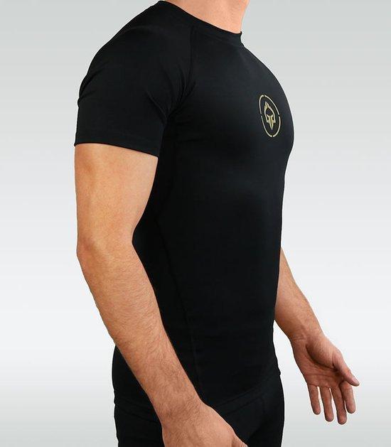 """Rashguard """"Athletic Glod"""" short sleeve"""
