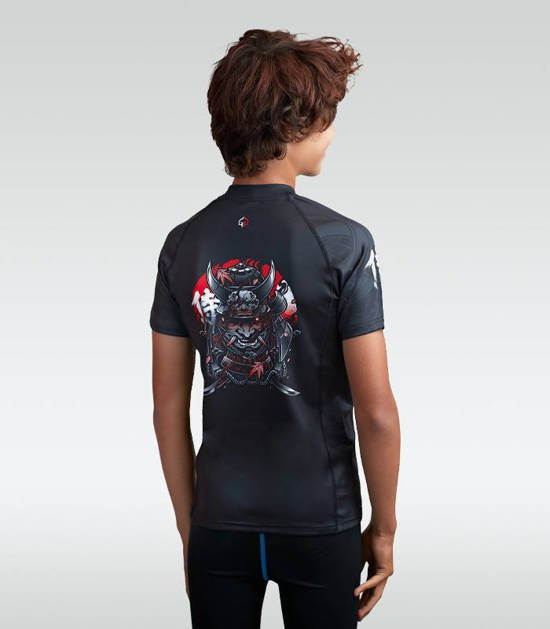 "Rashguard ""Samurai 2.0 Kids"" short sleeve"