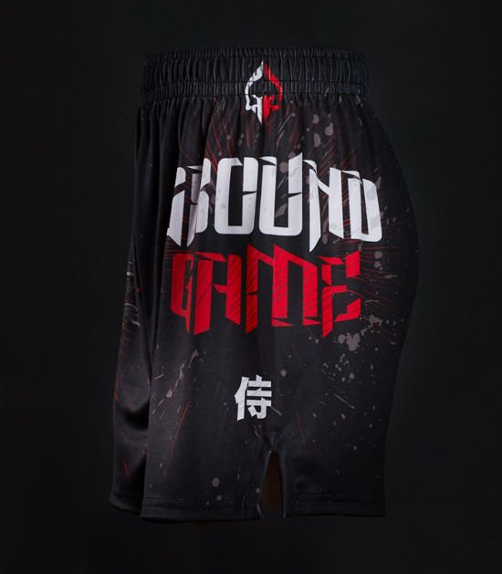 "Training shorts ""Samurai Mask"""