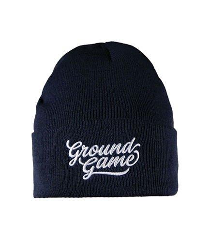 "Winter Hat ""Classic 2"" navy blue"