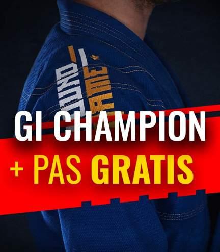 "GI do BJJ ""Champion"" (Niebieskie) + pas GRATIS"